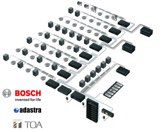 PA System Schematic