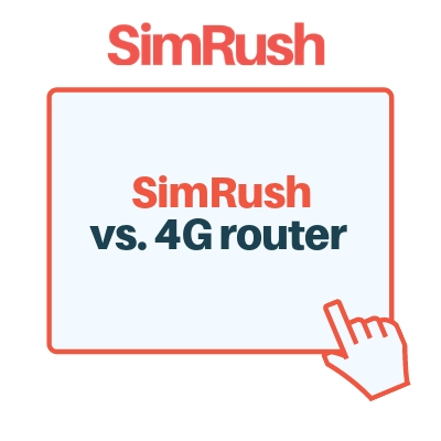 SimRush vs. 4G Router Image