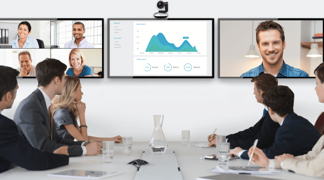 audio visual video conference room