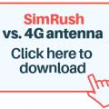 simrush connexions
