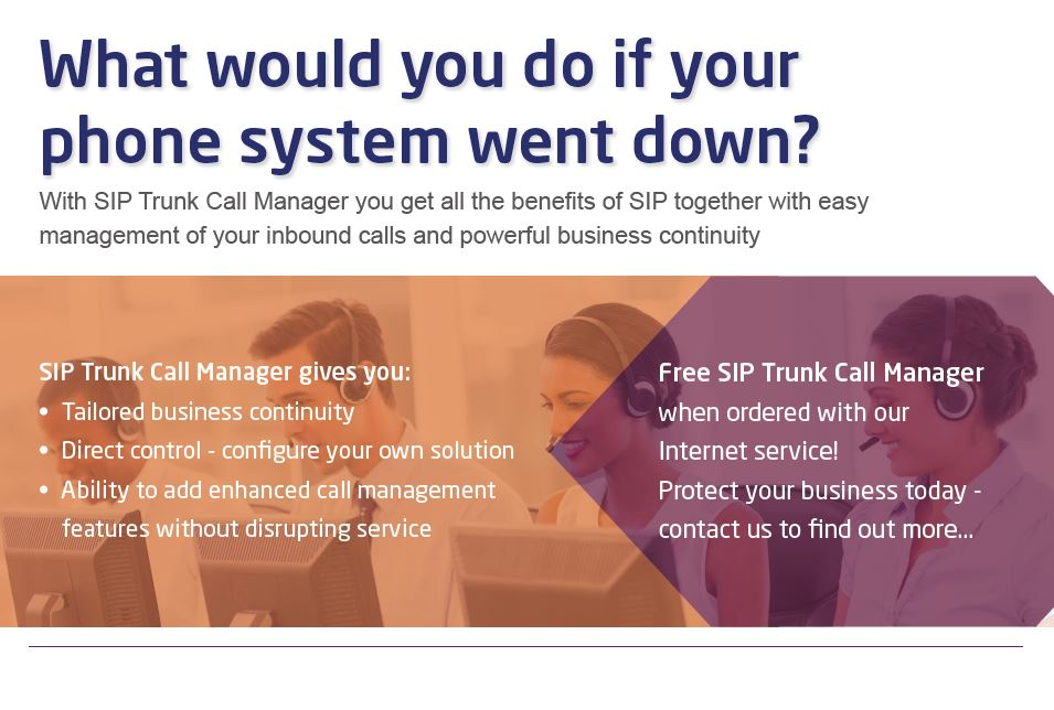 what would you do if your phone system went down